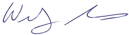 Wendy' signature